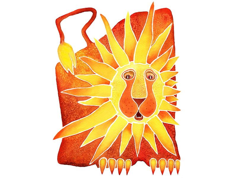 Zodiako ženklai - Liūtas