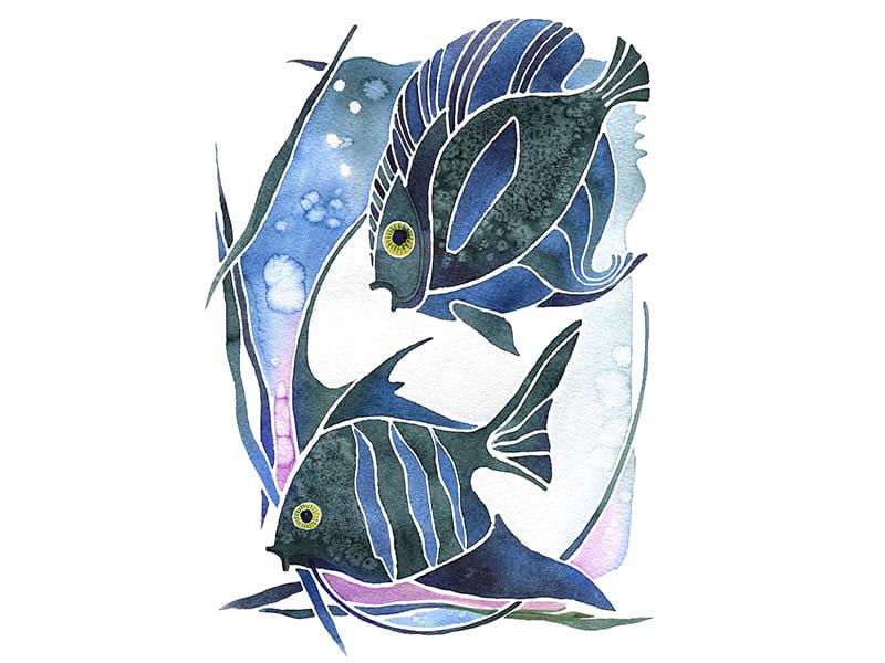 Zodiako ženklai - Žuvys